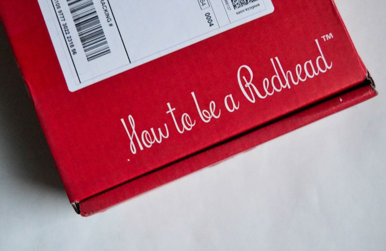 How to be a Redhead subscription box