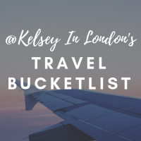 Travel Bucketlist: @Kelsey In London's list